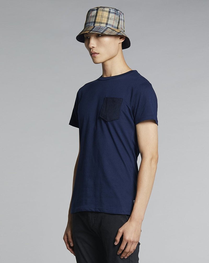 BELLFIELD ABALTO MENS T-SHIRT | NAVY