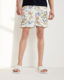 BELLFIELD AICHI MEN'S SWIM SHORTS | WHITE