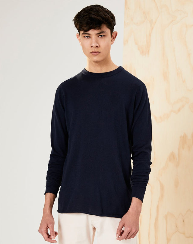 BELLFIELD BOLTA MENS JUMPER | NAVY