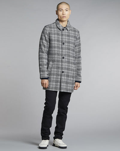BELLFIELD BUCKHAN MENS COAT | CHECK