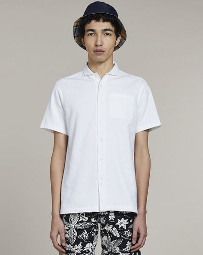 BELLFIELD CAMPO MENS SHIRT | WHITE