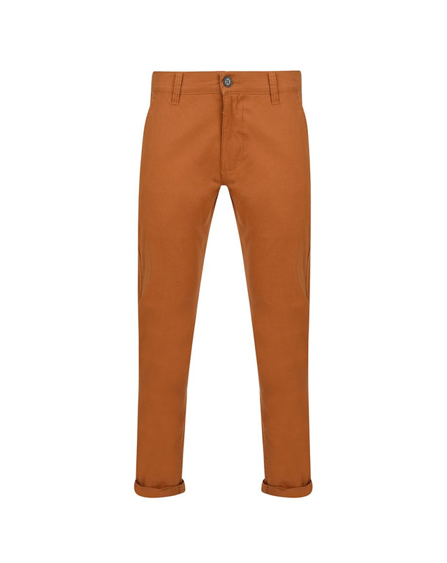 BELLFIELD CHENTO MENS CHINOS | TOBACCO