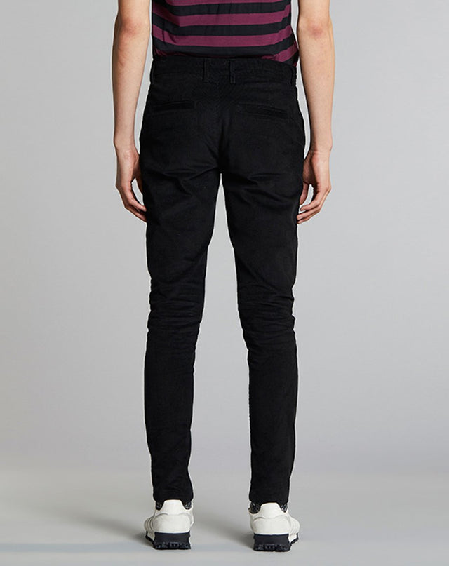 BELLFIELD CINCINNATI CORD MENS TROUSERS | BLACK