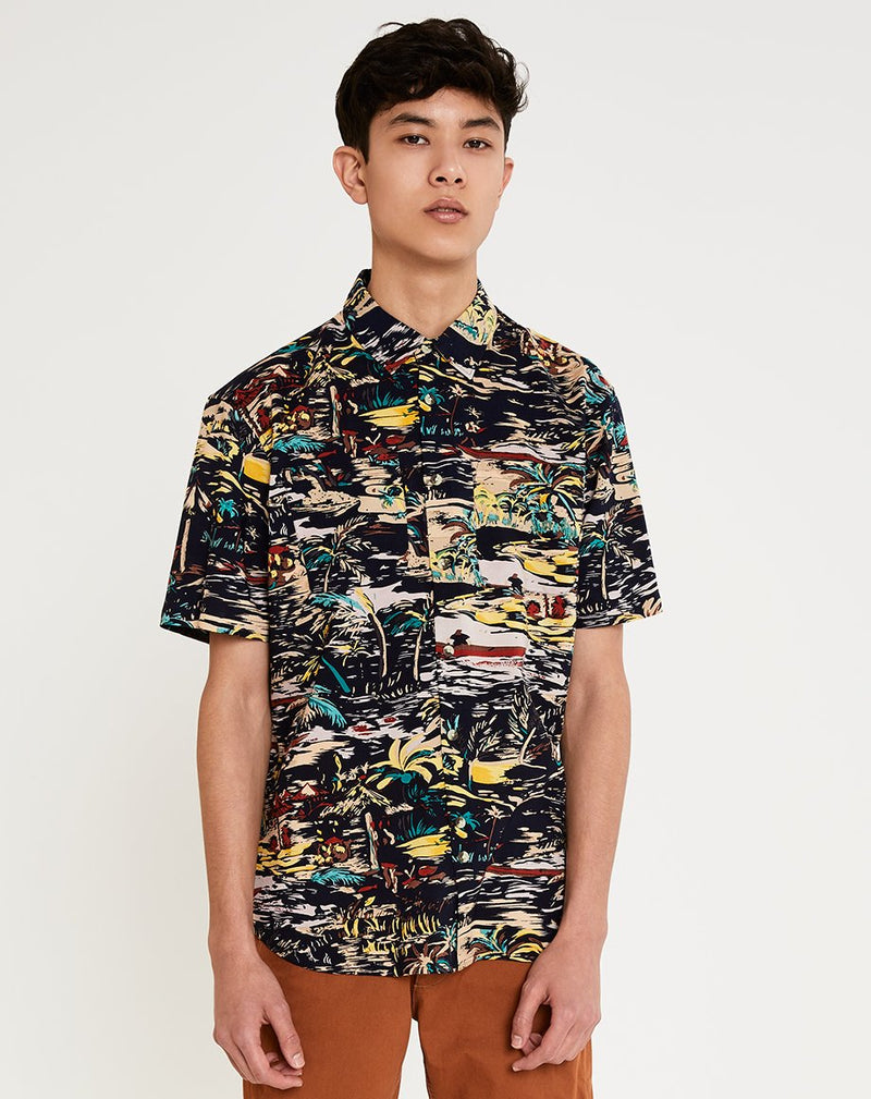 BELLFIELD CONDESA MENS SHIRT | NAVY