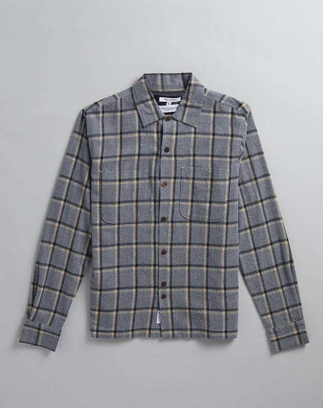 BELLFIELD ERNESTO MENS SHIRT | CHARCOAL