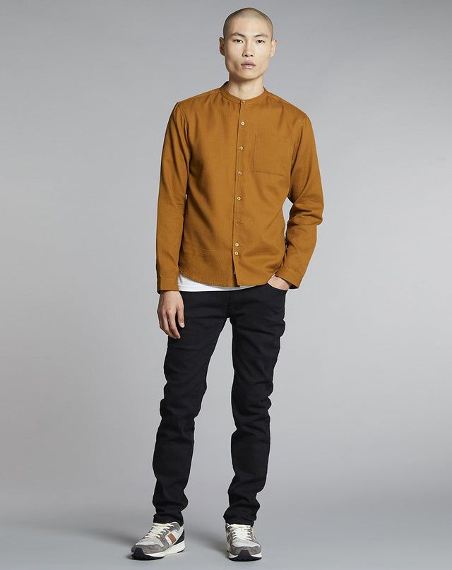 BELLFIELD GASTON MENS SHIRT | TOBACCO