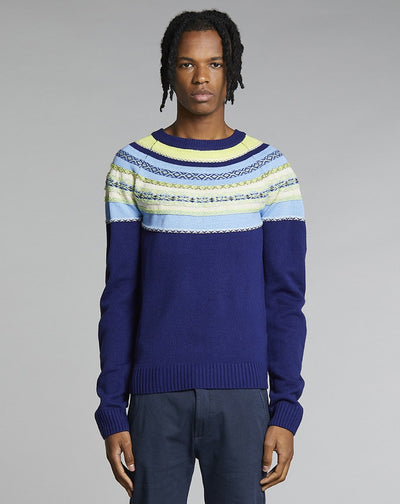 BELLFIELD GATEWOOD MENS JUMPER | NAVY