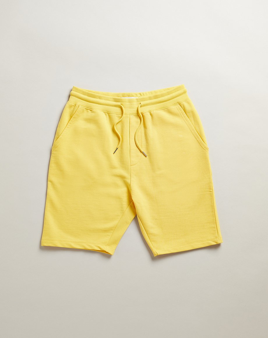 BELLFIELD GRAYSON MENS JOGGERS MENS SHORTS | YELLOW