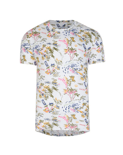 BELLFIELD GUYRA MENS T-SHIRT | WHITE