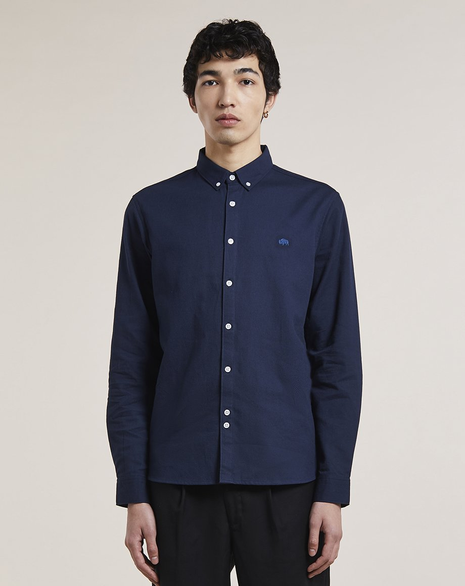 BELLFIELD HOLYWELL MENS SHIRT | NAVY