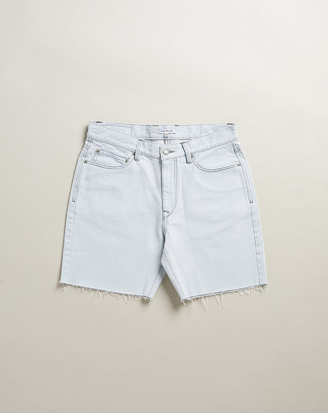 BELLFIELD HOOKY DENIM MENS SHORTS | BLEACH WASH