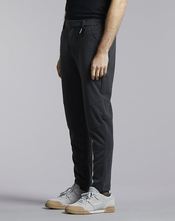 BELLFIELD JARLETH COMMUTER MENS TROUSERS | CHARCOAL MIX