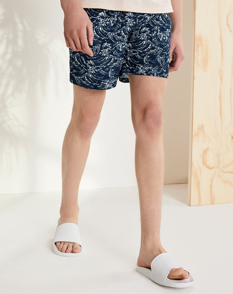 BELLFIELD KANAGAWA MENS SWIM SHORTS | NAVY
