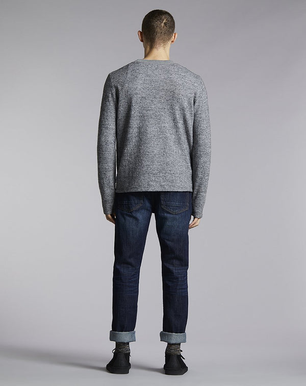 BELLFIELD KARA CREW NECK MENS JUMPER | GREY