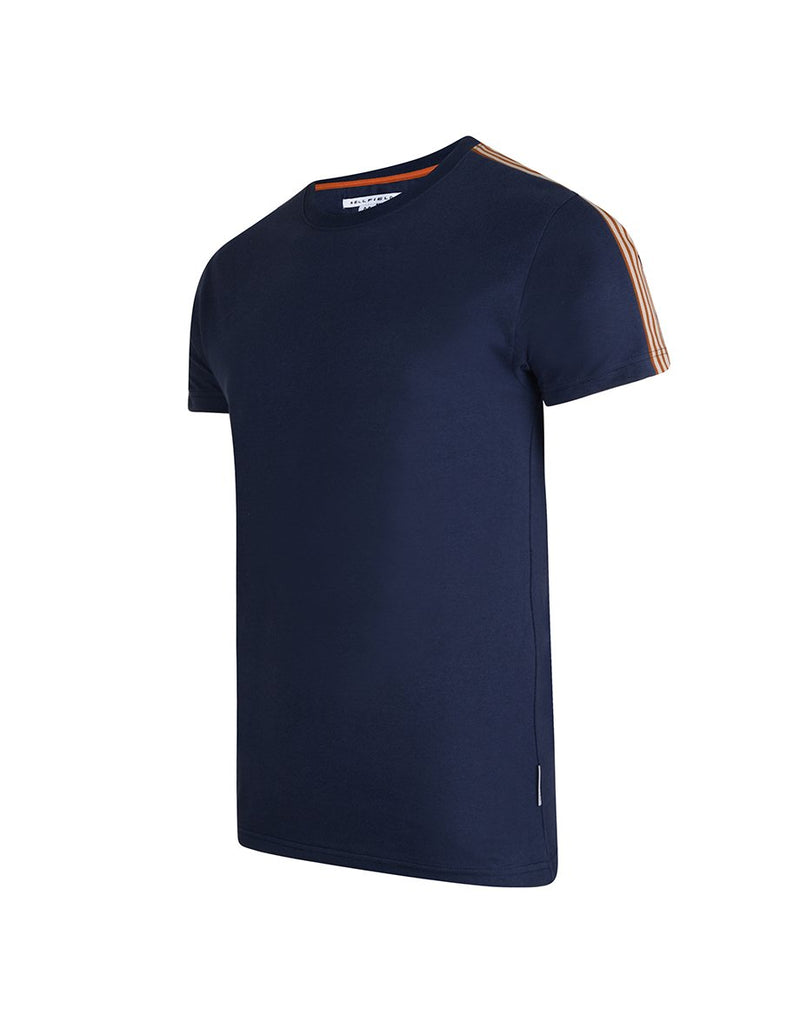 BELLFIELD KEMPSEY MENS T-SHIRT | NAVY
