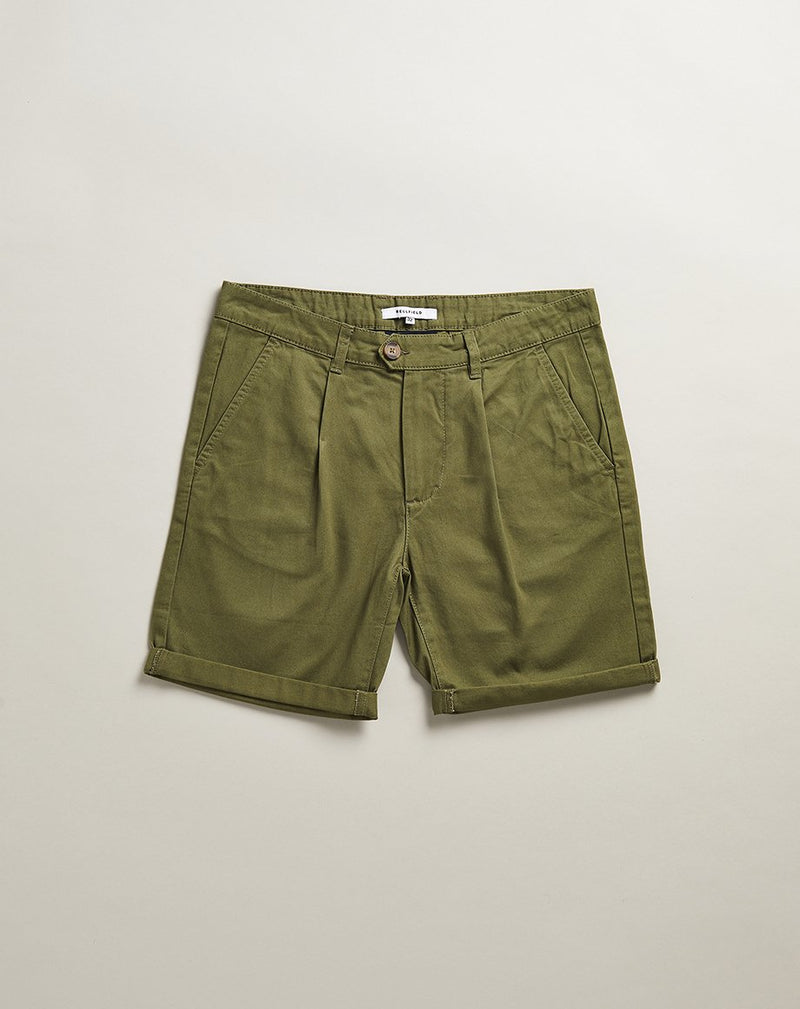 BELLFIELD KOWALSKI CHINO MENS SHORTS | KHAKI