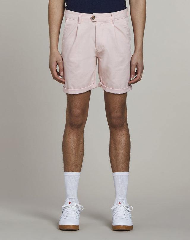 BELLFIELD KOWALSKI CHINO MENS SHORTS | PINK