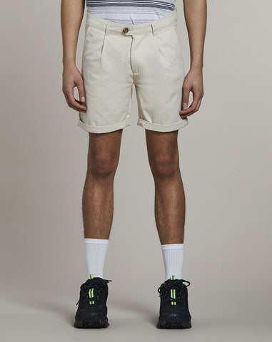 BELLFIELD KOWALSKI CHINO MENS SHORTS | STONE