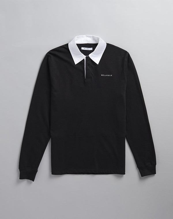 BELLFIELD KRUGER RUGBY MENS SHIRT | BLACK