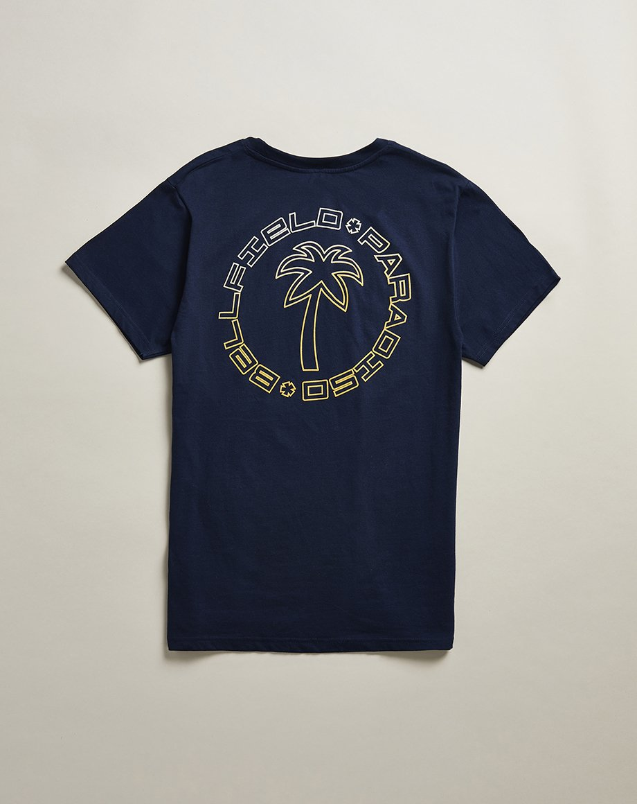 BELLFIELD LADEEM MENS T-SHIRT | NAVY