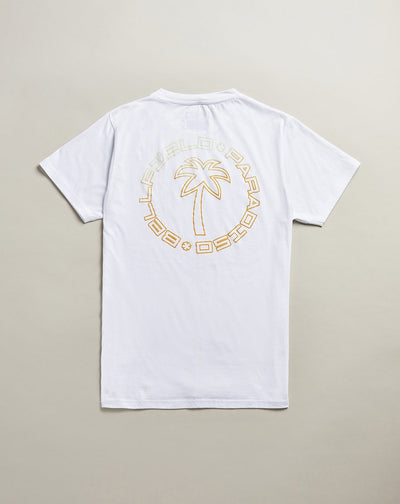 BELLFIELD LADEEM MENS T-SHIRT | WHITE