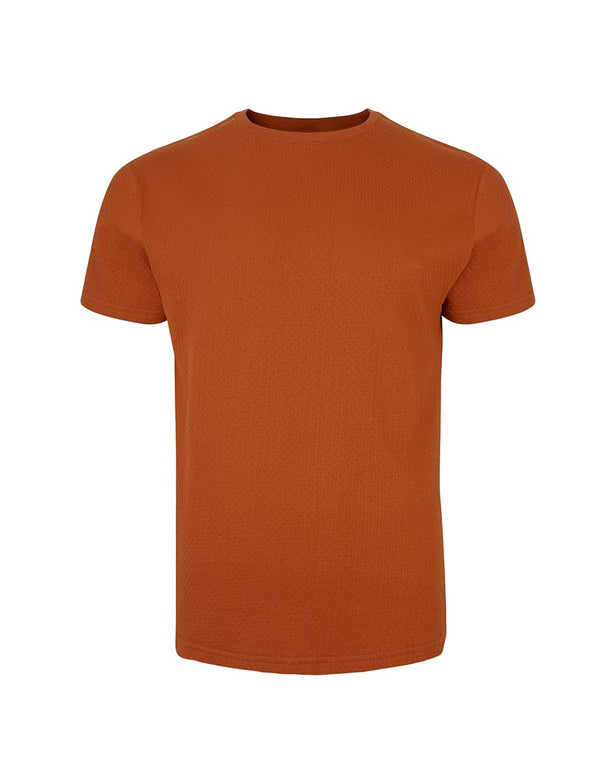 BELLFIELD LAIDLEY MEN'S T-SHIRT | TOBACCO