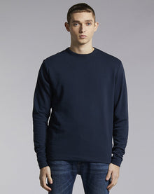 BELLFIELD LAIRD HIGH NECK MEN'S SWEATSHIRT | NAVY