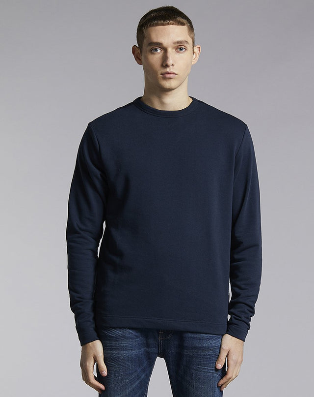 BELLFIELD LAIRD HIGH NECK MENS SWEATSHIRT | NAVY