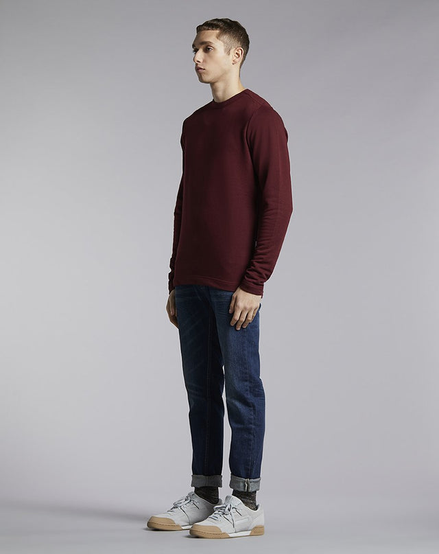 BELLFIELD LAIRD HIGH NECK MENS SWEATSHIRT | PORT