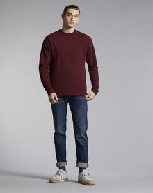 BELLFIELD LAIRD HIGH NECK MEN'S SWEATSHIRT | PORT