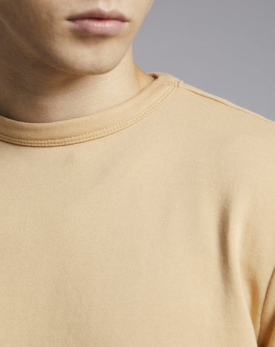 BELLFIELD LAIRD HIGH NECK MENS SWEATSHIRT | SAND