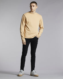 BELLFIELD LAIRD HIGH NECK MEN'S SWEATSHIRT | SAND