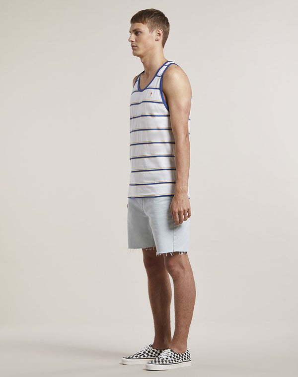 BELLFIELD LEELUM MENS VEST | OFF WHITE