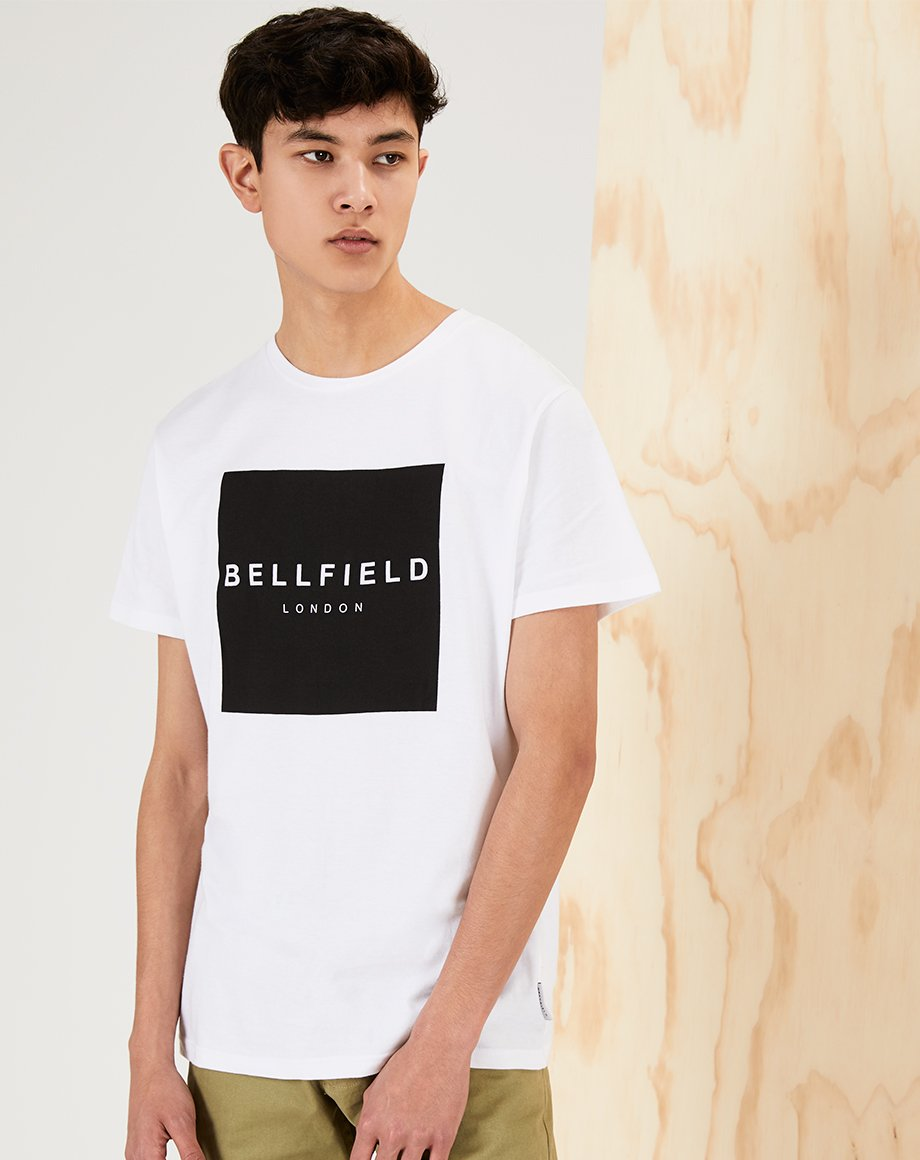 BELLFIELD LOGODO MENS T-SHIRT | WHITE