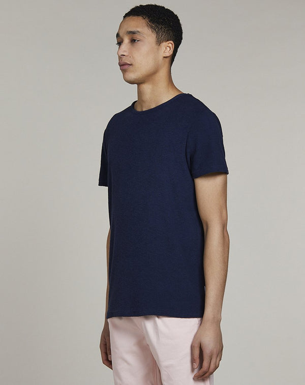 BELLFIELD LUCIOUS MENS T-SHIRT | NAVY