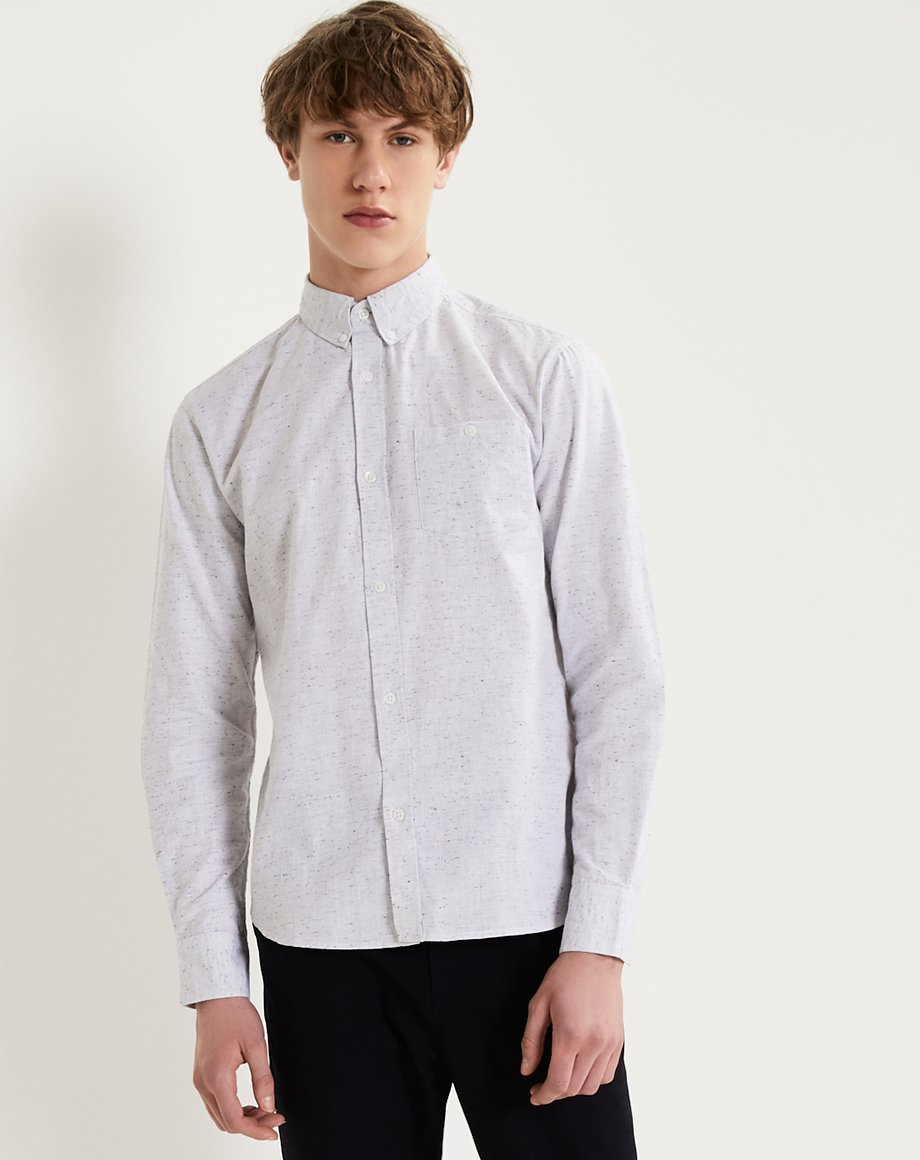 BELLFIELD LUND MENS SHIRT | GREY