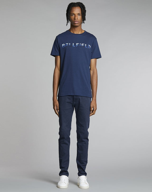 BELLFIELD MAHNI MENS T-SHIRT | NAVY