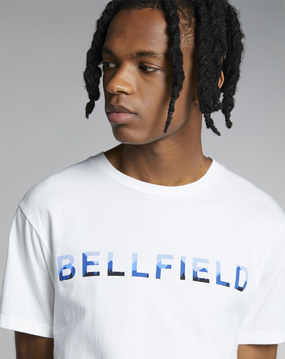 BELLFIELD MAHNI MENS T-SHIRT | WHITE