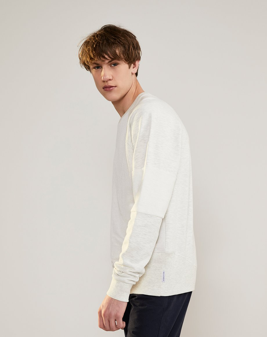BELLFIELD MALONE MENS SWEATSHIRT | GREY