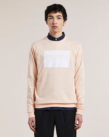 BELLFIELD MAXWELL BRANDED MEN'S SWEATSHIRT | DUSTY PINK