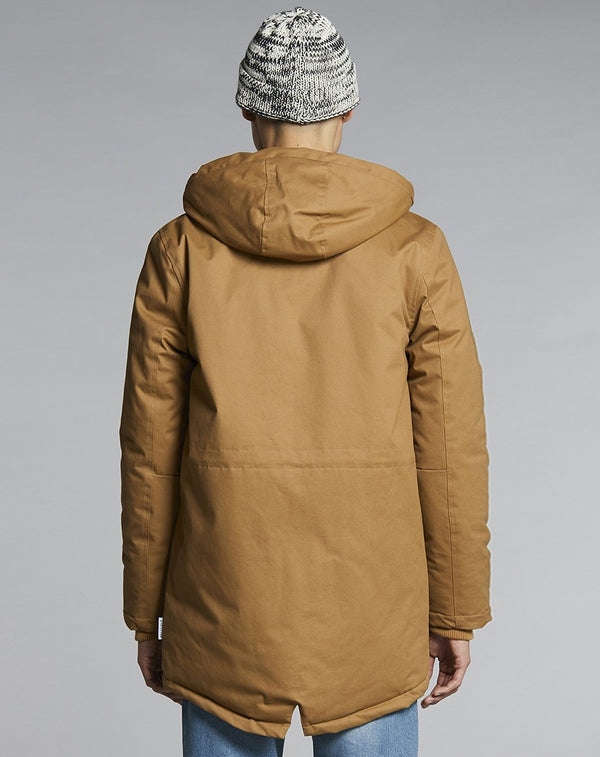 BELLFIELD MOULDER LINED MENS PARKA JACKET | TOBACCO