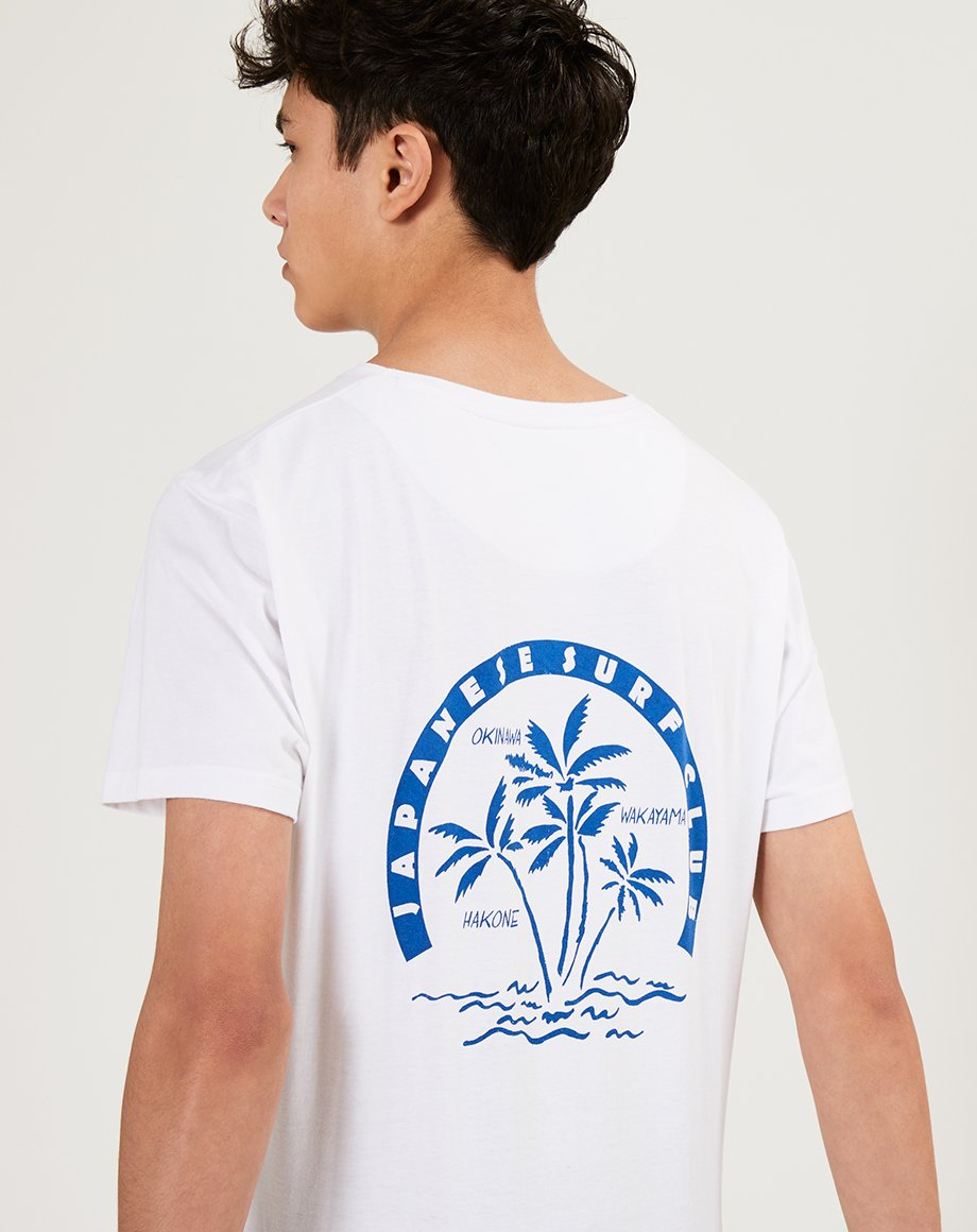 BELLFIELD OKINAWA MENS T-SHIRT | WHITE
