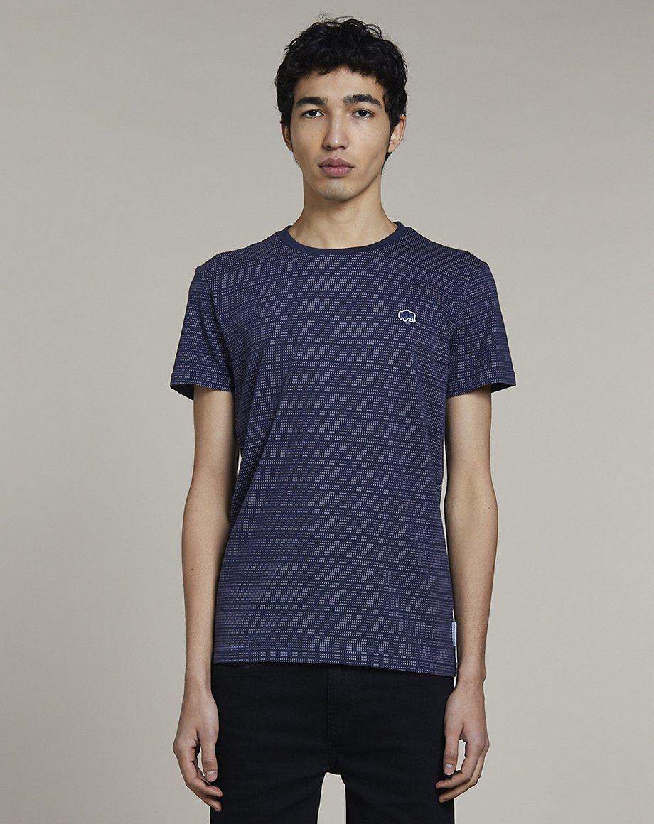 BELLFIELD PACO MENS T-SHIRT | NAVY