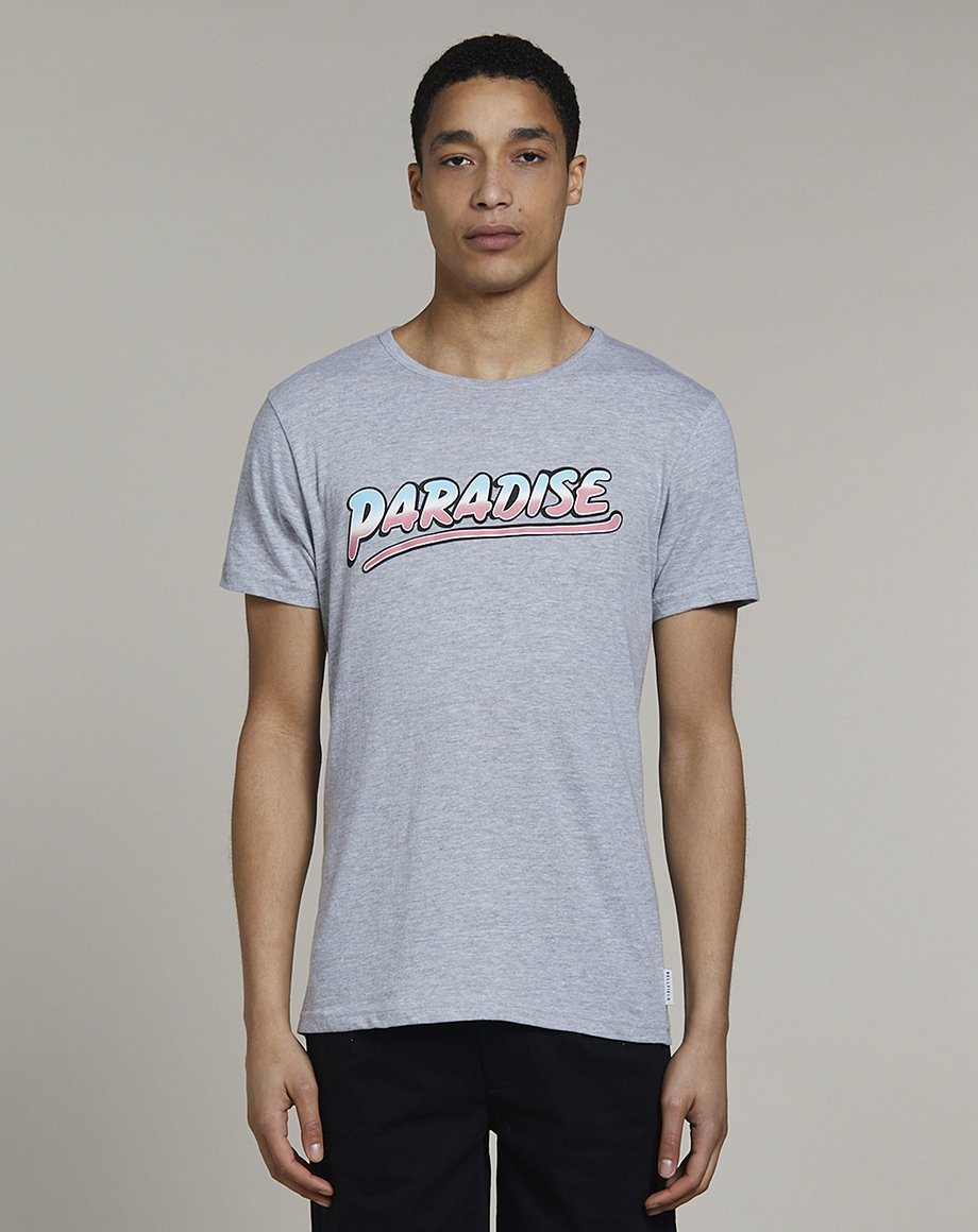 BELLFIELD PARADINE MENS T-SHIRT | GREY