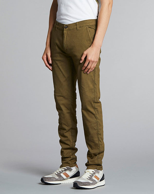 BELLFIELD PATRON BASIC STRETCH MENS CHINOS | KHAKI