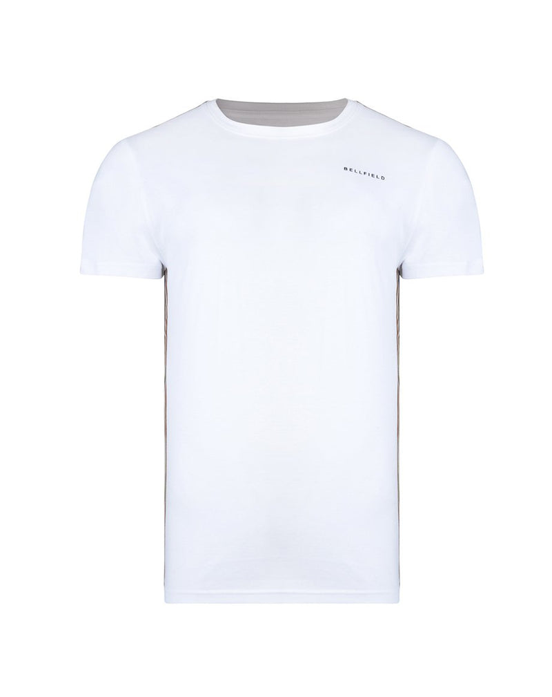 BELLFIELD PIANILLO MENS T-SHIRT | WHITE