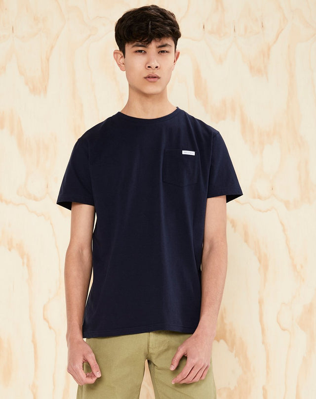 BELLFIELD PICTON MENS T-SHIRT | NAVY