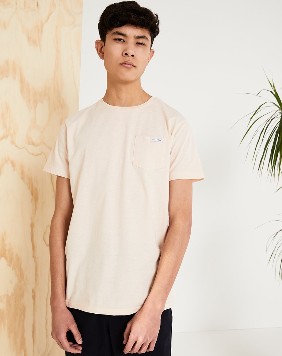 BELLFIELD PICTON MENS T-SHIRT | PINK