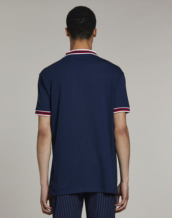 BELLFIELD PUEVA MENS POLO SHIRT | NAVY