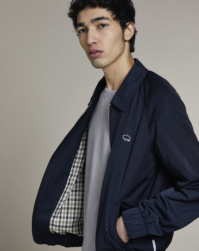 BELLFIELD REPTON HARRINGTON MENS JACKET | NAVY